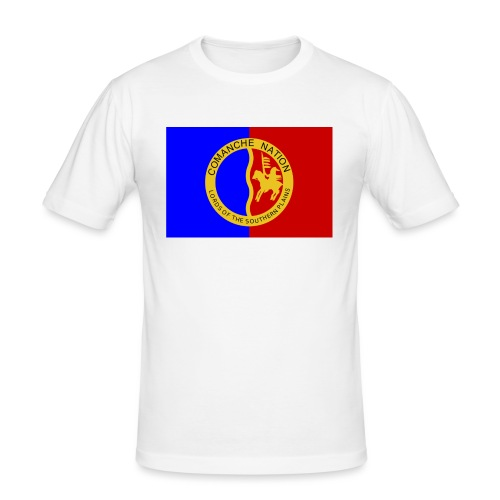 1200px Flag of the Comanche Nation svg - T-shirt près du corps Homme