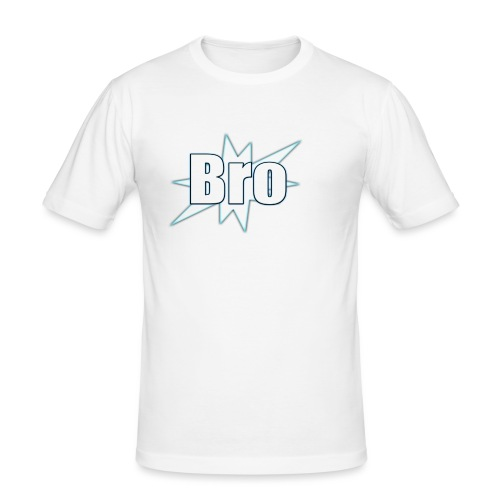Bro hats and shirts - Herre Slim Fit T-Shirt