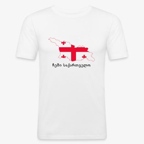 Mi georgia - ჩემი საქართველო - Camiseta ajustada hombre