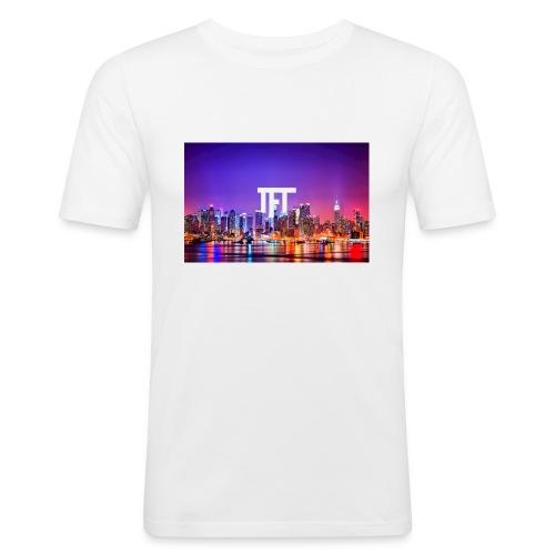 TheFlexTerms City Design - Mannen slim fit T-shirt