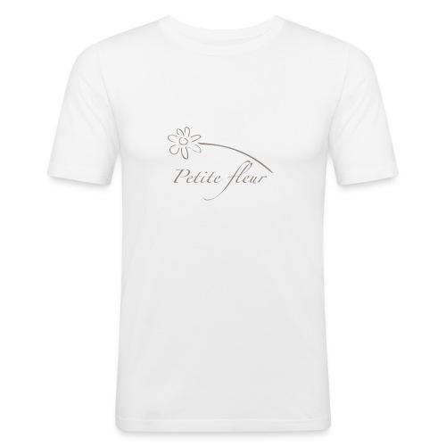 petite fleur - T-shirt près du corps Homme