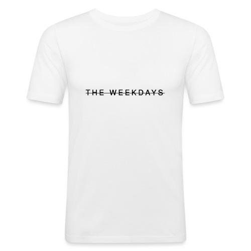 THE WEEKDAYS Design - Men's Slim Fit T-Shirt