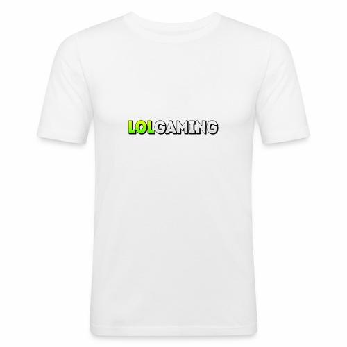 LolGaming - Mannen slim fit T-shirt