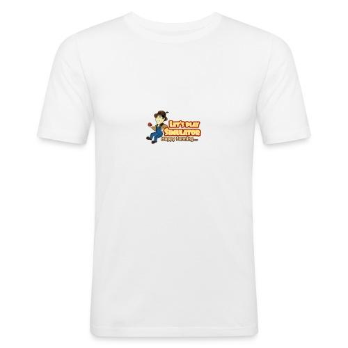 LPS LOGO - Men's Slim Fit T-Shirt