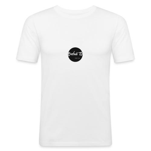 BatzdiTV -Premium round Merch - Männer Slim Fit T-Shirt