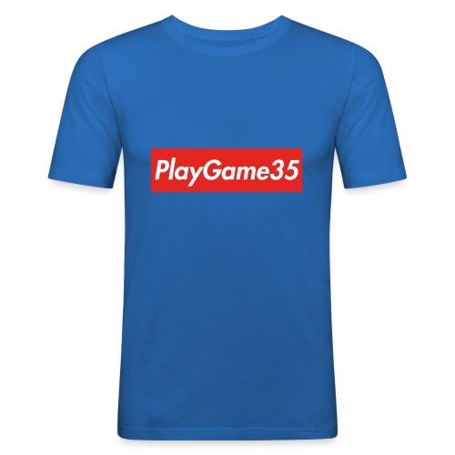PlayGame35 - Maglietta aderente da uomo