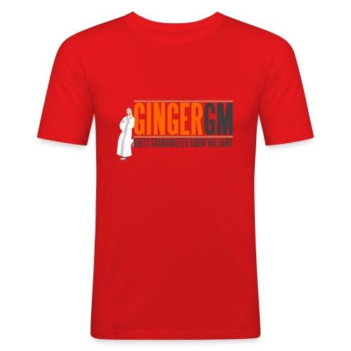 Ginger GM Logo - Men's Slim Fit T-Shirt