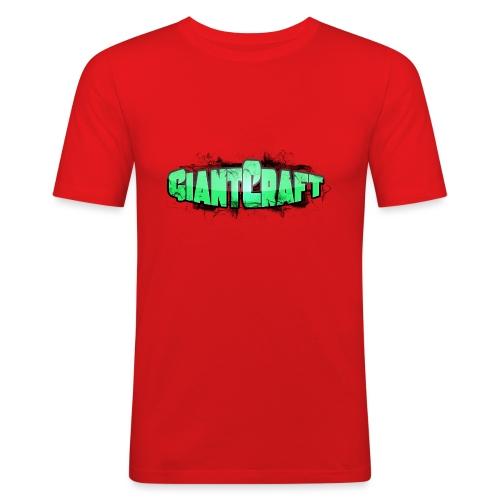 Vandflaske - GiantCraft - Herre Slim Fit T-Shirt