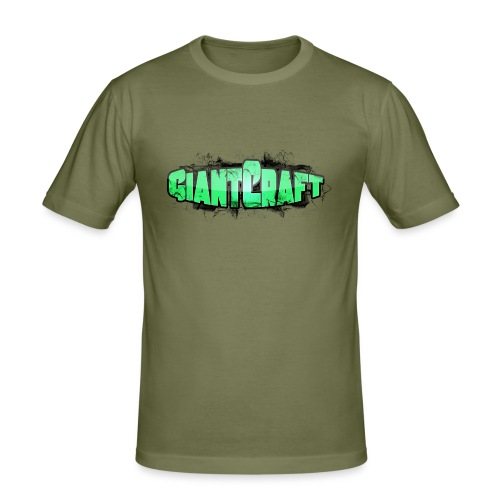 Vandflaske - GiantCraft - Herre Slim Fit T-Shirt