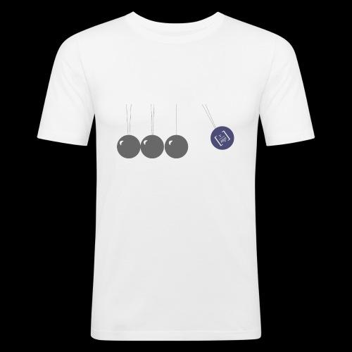 Pendel 2 - Männer Slim Fit T-Shirt