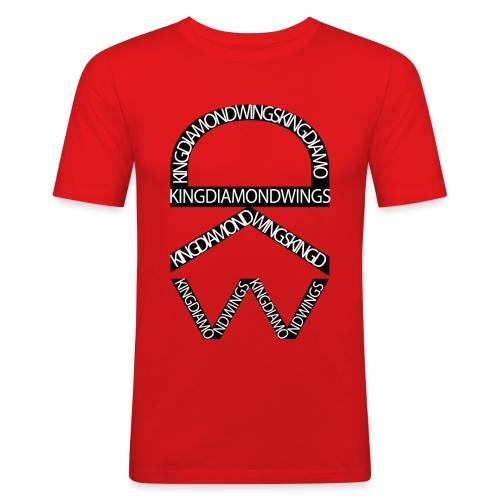 King Diamond Wings Logo - Men's Slim Fit T-Shirt