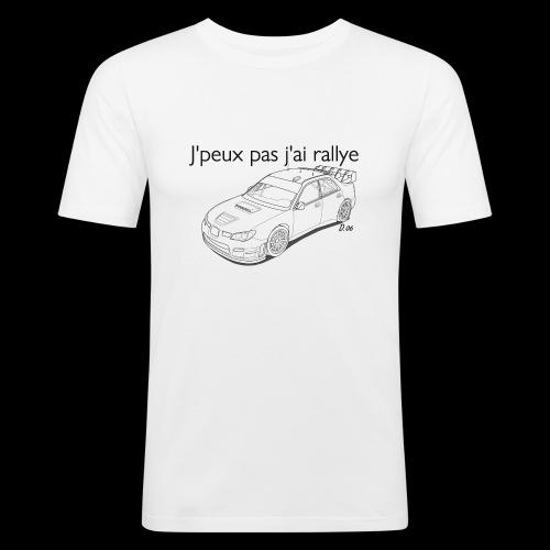 J'peux pas j'ai rallye - T-shirt près du corps Homme