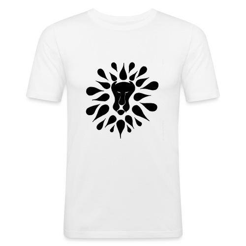 lion k - Maglietta aderente da uomo