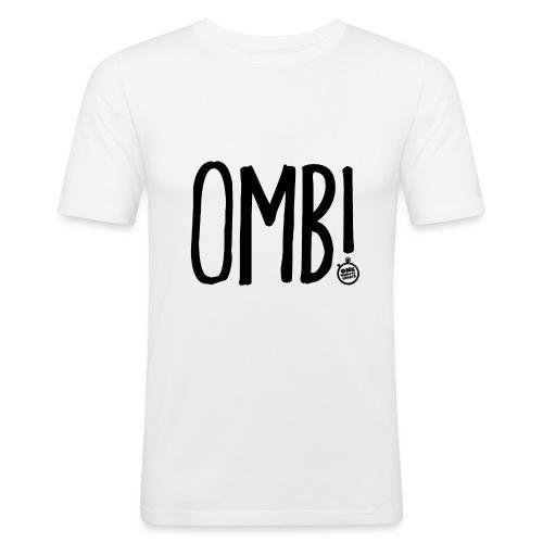 OMB LOGO - Men's Slim Fit T-Shirt