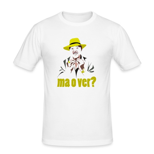 Davvero? - Maglietta aderente da uomo
