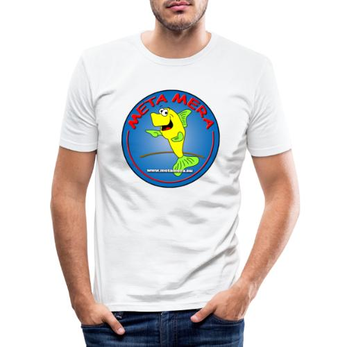 metamera_fish - Slim Fit T-shirt herr