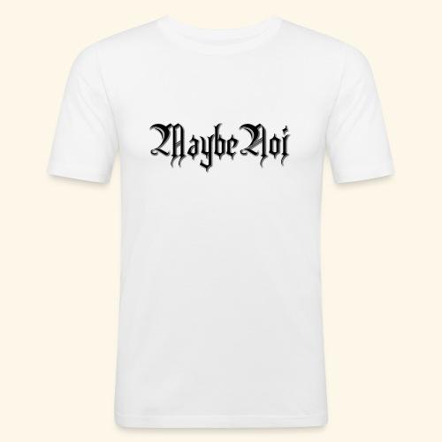 MaybeNoi Design - Männer Slim Fit T-Shirt