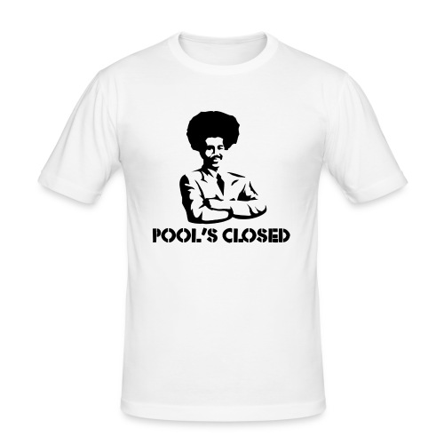 poolsclosed png - Männer Slim Fit T-Shirt