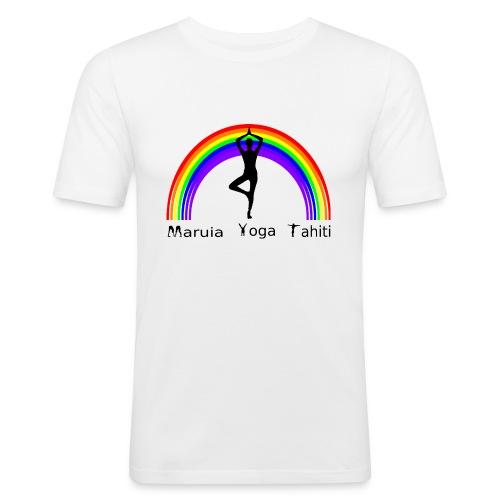 Logo de Maruia Yoga Tahiti - T-shirt près du corps Homme