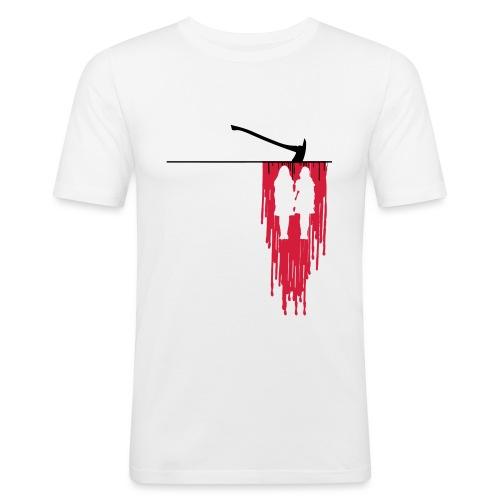 Overlook Hotel blood horror - Maglietta aderente da uomo