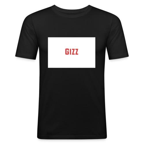 Gizz rood - slim fit T-shirt