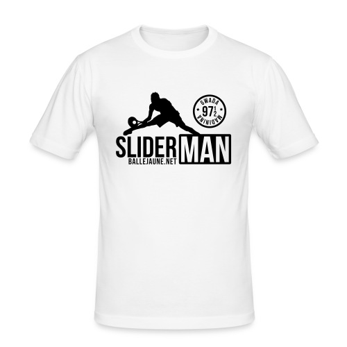 slidermansimple - T-shirt près du corps Homme
