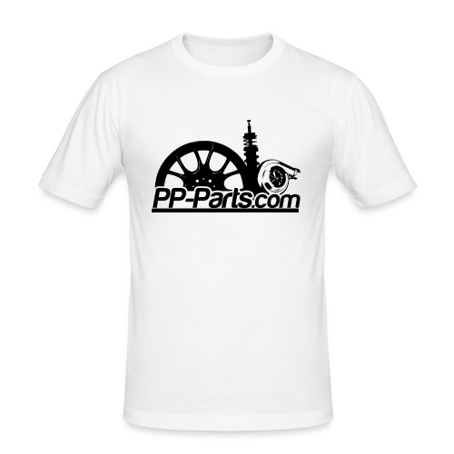 Black PPP - Männer Slim Fit T-Shirt