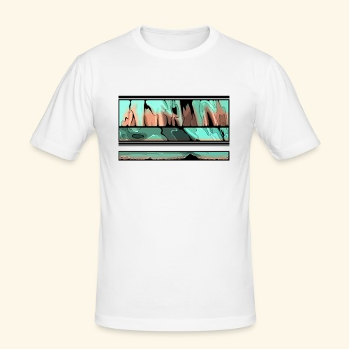 Slur-F06 - Men's Slim Fit T-Shirt