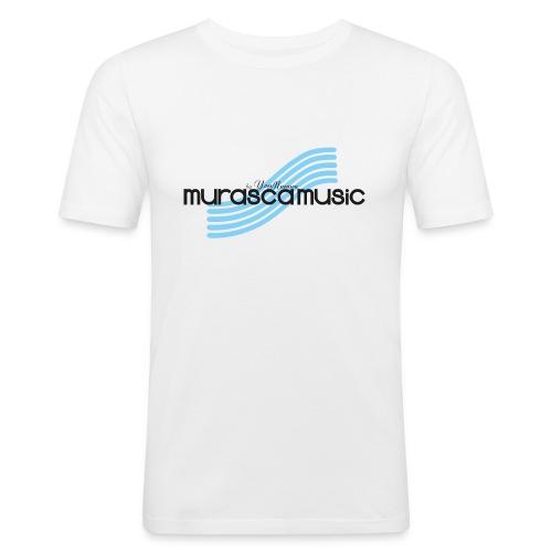 murascamusic b blu - Men's Slim Fit T-Shirt