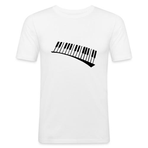 Piano - Camiseta ajustada hombre