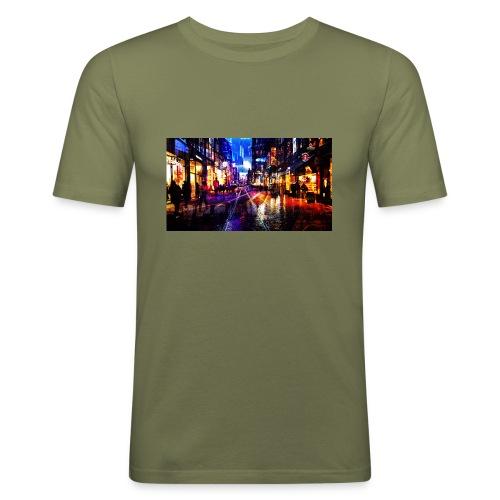 Flip Side Photography Amsterdam - Men's Slim Fit T-Shirt