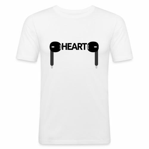 ListenToYourHeart - Obcisła koszulka męska