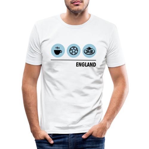 Circles - England - Men's Slim Fit T-Shirt