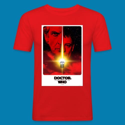 Twelfth Doctor and the Master poster - Maglietta aderente da uomo