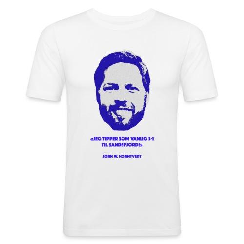 Horntvedt - Slim Fit T-skjorte for menn