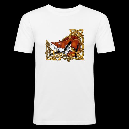 Celtic Fox - Men's Slim Fit T-Shirt