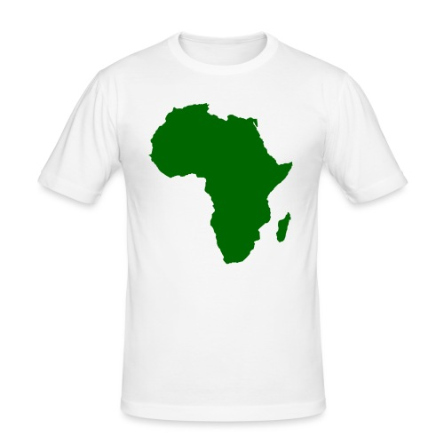 African styles green - Men's Slim Fit T-Shirt