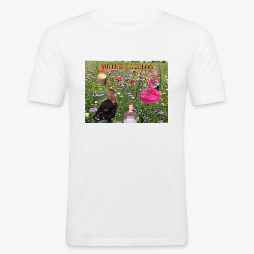Sulleslotsblog - Herre Slim Fit T-Shirt