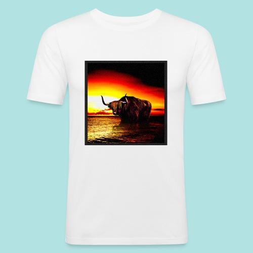 Wandering_Bull - Men's Slim Fit T-Shirt