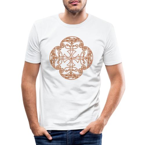 Anglian gold (Mellowed) - Men's Slim Fit T-Shirt