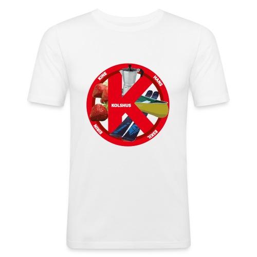 logoforeskil - Men's Slim Fit T-Shirt