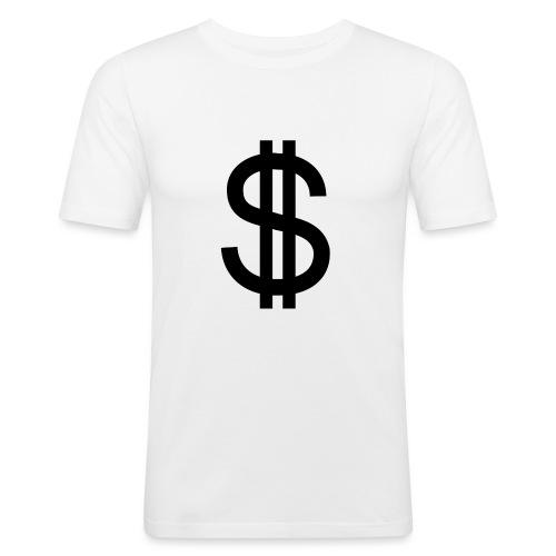 Dollar - Camiseta ajustada hombre