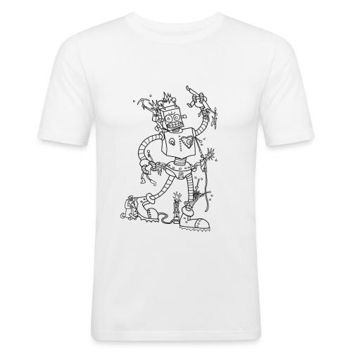 robotpunk - Men's Slim Fit T-Shirt