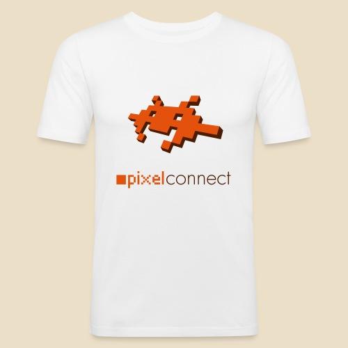 pixelfox connect - Männer Slim Fit T-Shirt