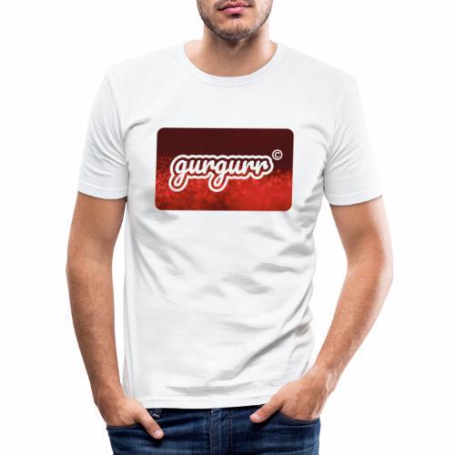 Glitter Pigeon - Männer Slim Fit T-Shirt