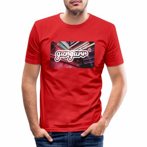 Street Pigeon - Männer Slim Fit T-Shirt