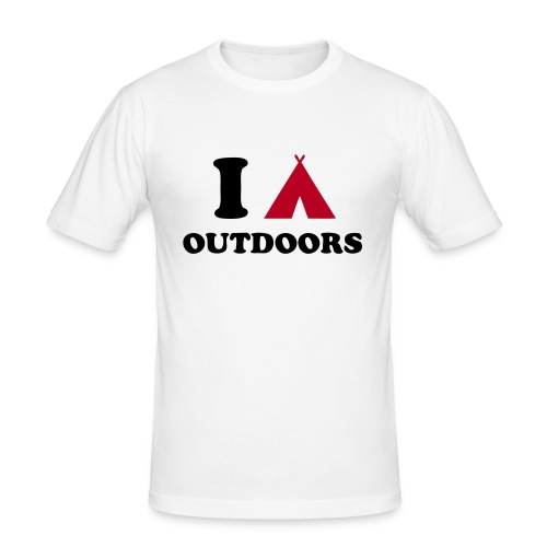 I Camp Outdoors - Men's Slim Fit T-Shirt