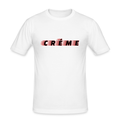 Créme - Men's Slim Fit T-Shirt