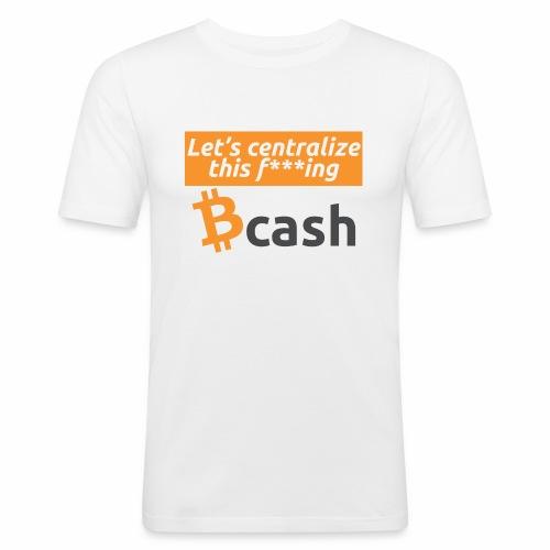 Bcash centralized - Maglietta aderente da uomo