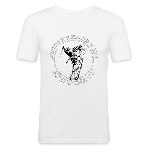 Tshirt Dam - Slim Fit T-shirt herr